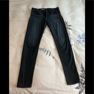 AG The Farrah skinny high rise jeans